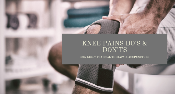Knee Pain Dos and Don'ts