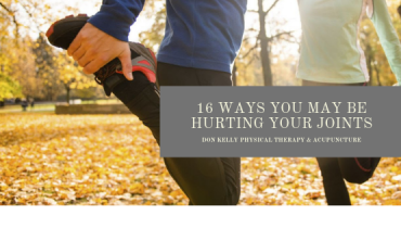 16 Ways You May Be Hurting Your Joints