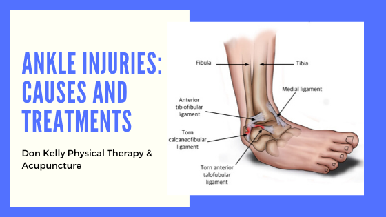 Ankle Injuries: Causes and Treatments