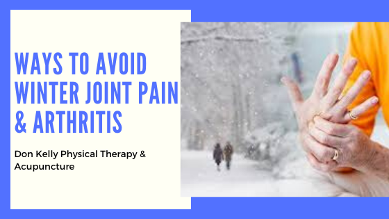 Ways To Avoid Winter Joint Pain & Arthritis