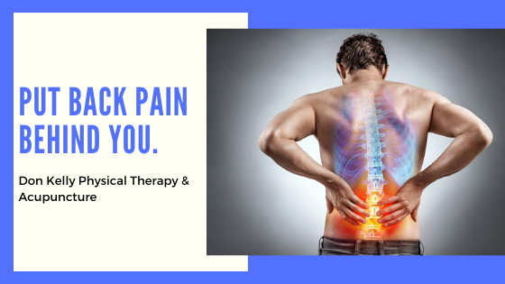 Put The Back Pain Behind You